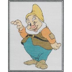 Gobelin 15x20 cm 1092 Vidor törpe