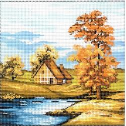 Gobelin 20x20 cm 179 Ősz