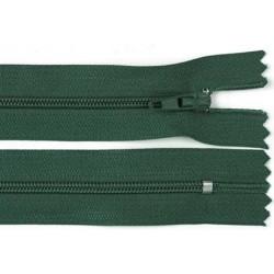 Cipzár 40 cm műanyag zöld