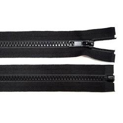 Cipzár 75 cm bontható fekete