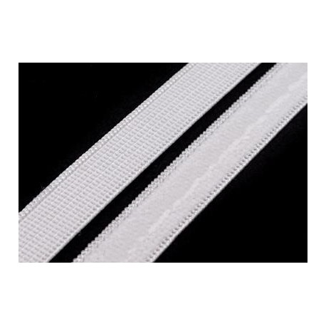 Szilikonos gumi 1 cm fehér