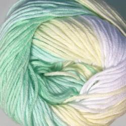 Bella Batik zöld/fehér/sárga 50 g
