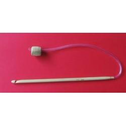 Bambusz horgolótű 4,5 mm