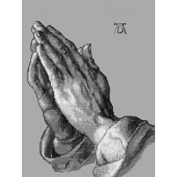 Gobelin 20x25 cm Sz:819 T Dürer: Imádkozó kéz