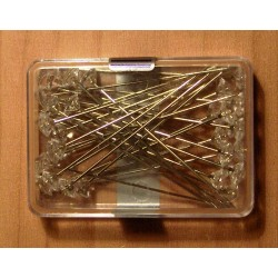 Gyémántfejű gombostű 30 db