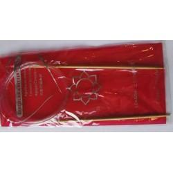 Bambusz körkötőtű 2,5 mm