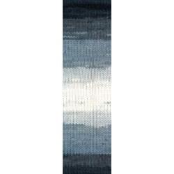 Lanagold Batik  szürke/drapp 100 g