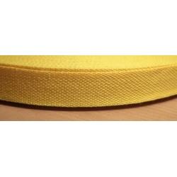 Danubia szalag 1,3 cm sárga