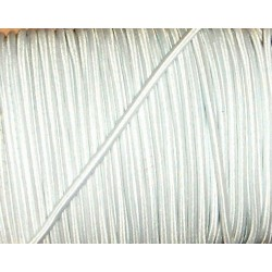 Gumi 0,3 cm hengeres fehér