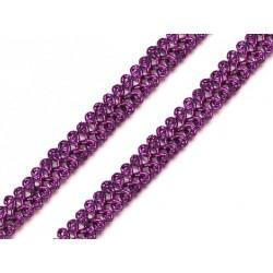 Bortni 0,9 cm széles lila