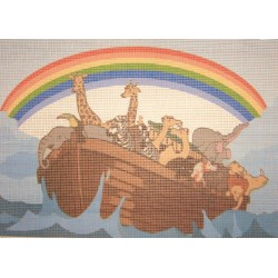 Gobelin 25x35 cm WG50 Noé bárkája