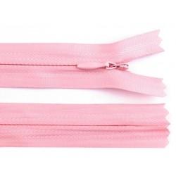Cipzár 20 cm rejtett rózsaszín