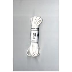 Cipőfűző 85 cm lapos fehér