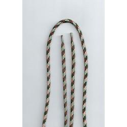 Cipőfűző bakancsba 120 cm bézs-barna-fehér