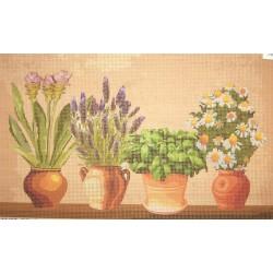 Gobelin 15x30 cm WV33 Gyógynövények