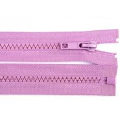 Cipzár 80 cm bontható lila