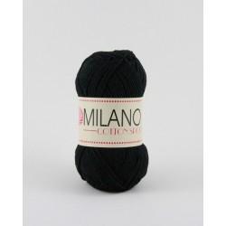 Milano Cotton Sport fekete 100 g