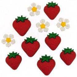 Dress It Up gombszett Fresh Strawberries