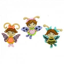 Dress It Up gombszett Flutter Bugs