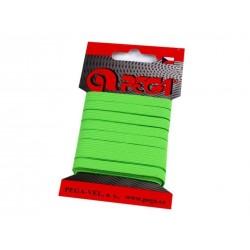 Gumi 0,7 cm neonzöld 5m/kártya