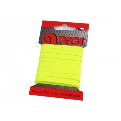 Gumi 0,7 cm neonsárga 5m/kártya