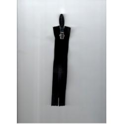 Cipzár 16 cm bontható fekete