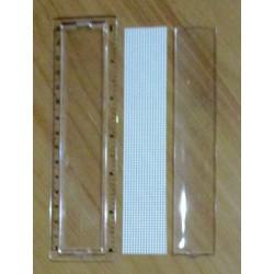 Hímezhető vonalzó 15 cm
