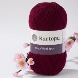 Cozy Wool Sport burgundi 100 g