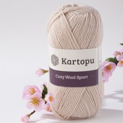 Cozy Wool Sport bézs 100 g