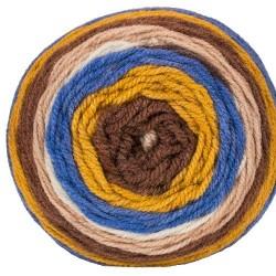 Jersey kék/arany/barna/drapp 200 g