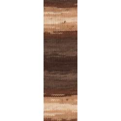 Lanagold Batik krém/barna/karamell 100 g