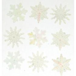 Dress It Up gombszett Crystal Snowflakes