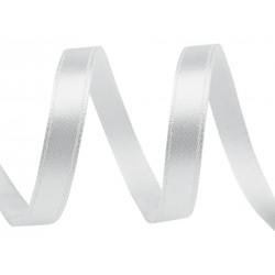 Szatén szalag 0,6 cm halványezüst