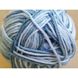Cotton Mate Color kék melírozott 50 g