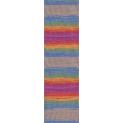 Diva Batik szivárvány/drapp 100 g