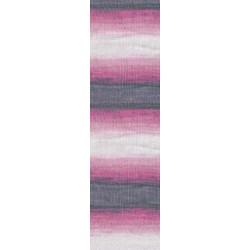 Diva Batik rózsaszín/szürke/törtfehér 100 g