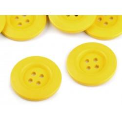 Fagomb 4 cm sárga