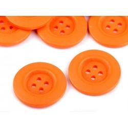 Fagomb 4 cm narancssárga