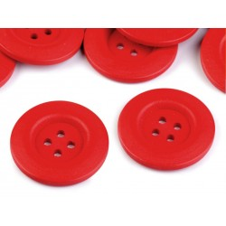 Fagomb 4 cm piros
