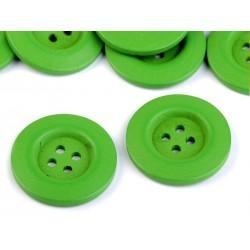 Fagomb 4 cm zöld